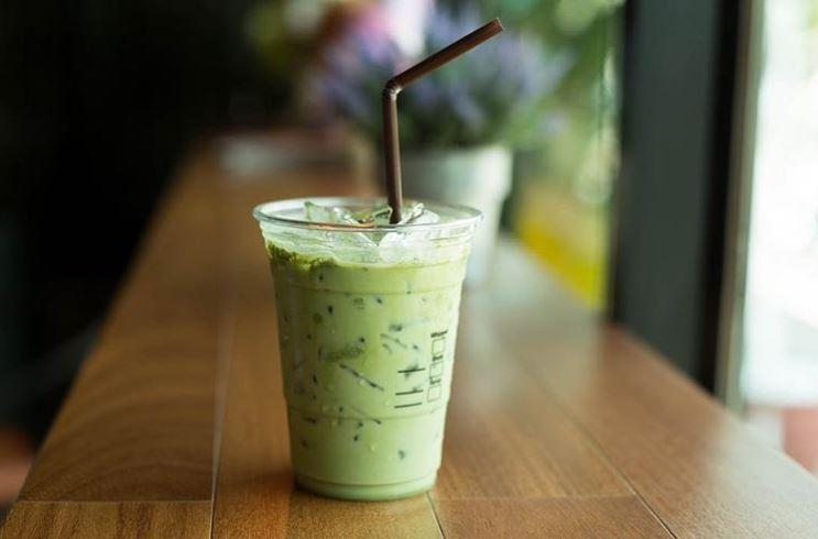 Cara membuat Green tea latte